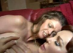 Horny mature slut fucking her toy boy
